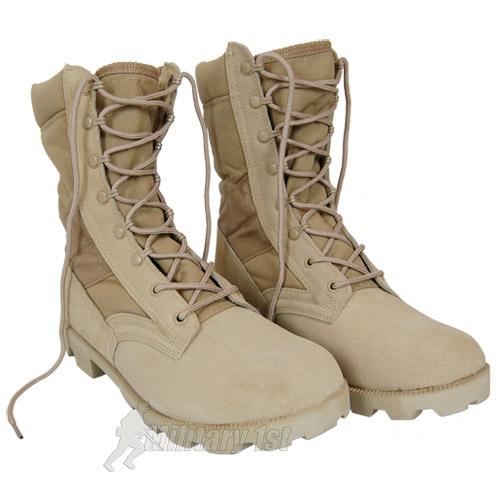 US ARMEE DESERT COMBAT JUNGLE PATROL HERREN STIEFEL TAN VELOURSLEDER KHAKI 6-13