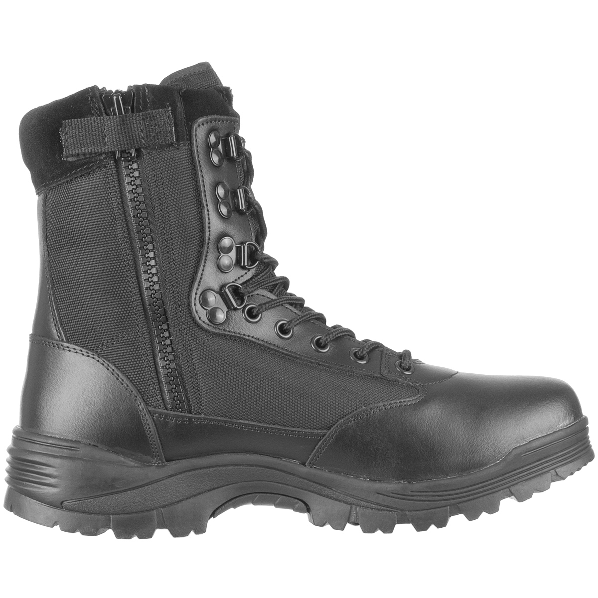 Tactical Side Zip Security Police Combat Boots Army Mens