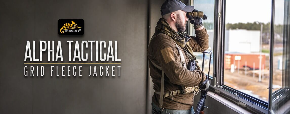 Helikon Alpha Tactical Grid Fleece