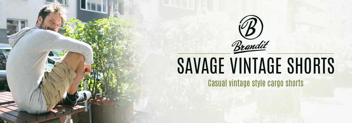 Brandit Savage Vintage Shorts