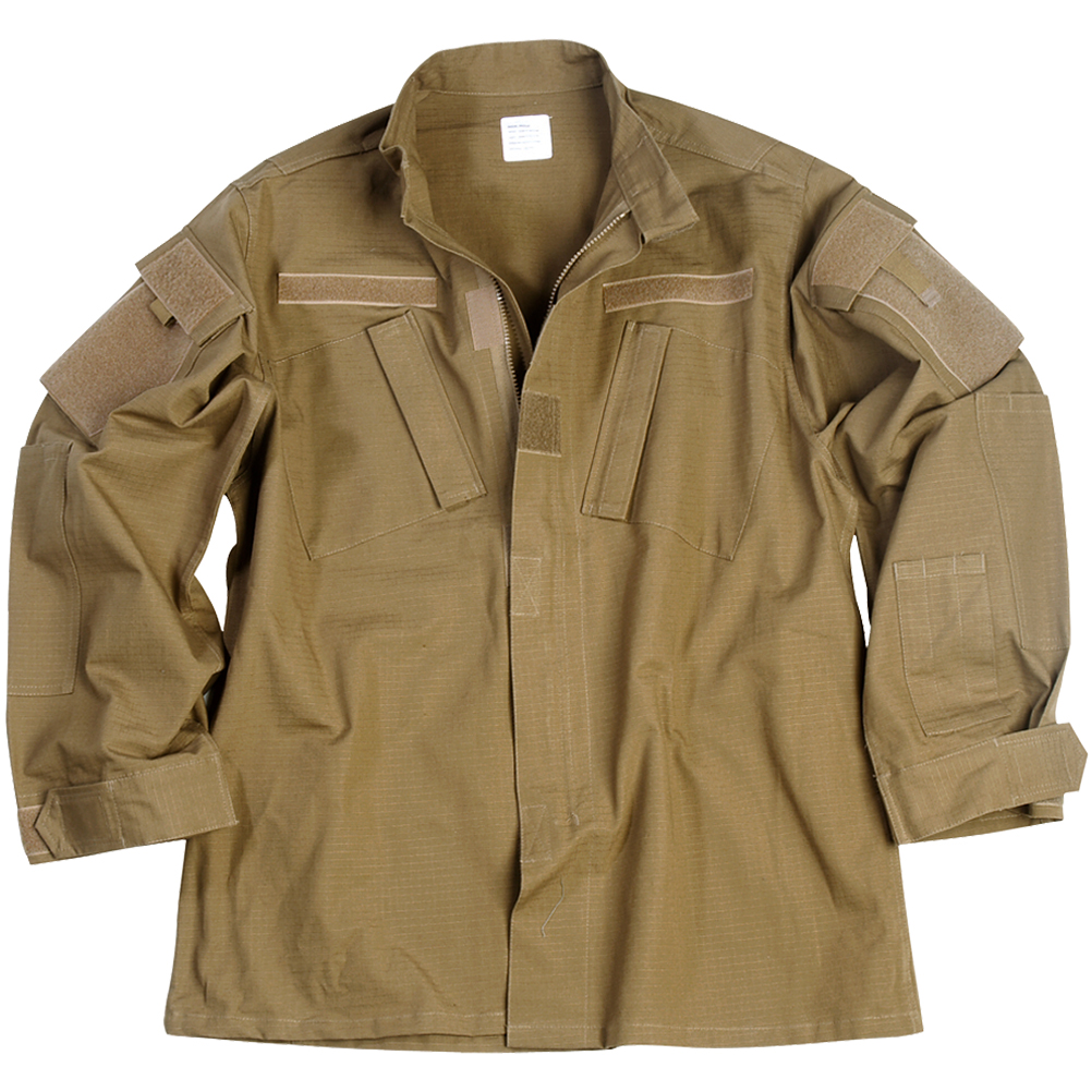 Details about Military Patrol ACU Ripstop Army Shirt Mens Combat Field Jacket  Coyote Tan S-XXL b0a22959eb1