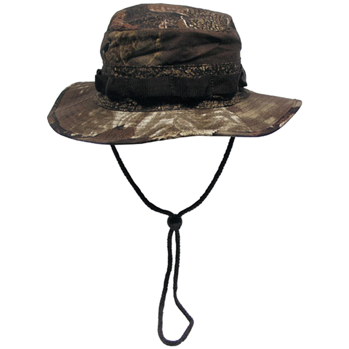 US-GI-Ripstop-Bush-Boonie-Hat-Army-Fishing-Hunter-Cap-Real-Tree-Brown-Camo-S-XL
