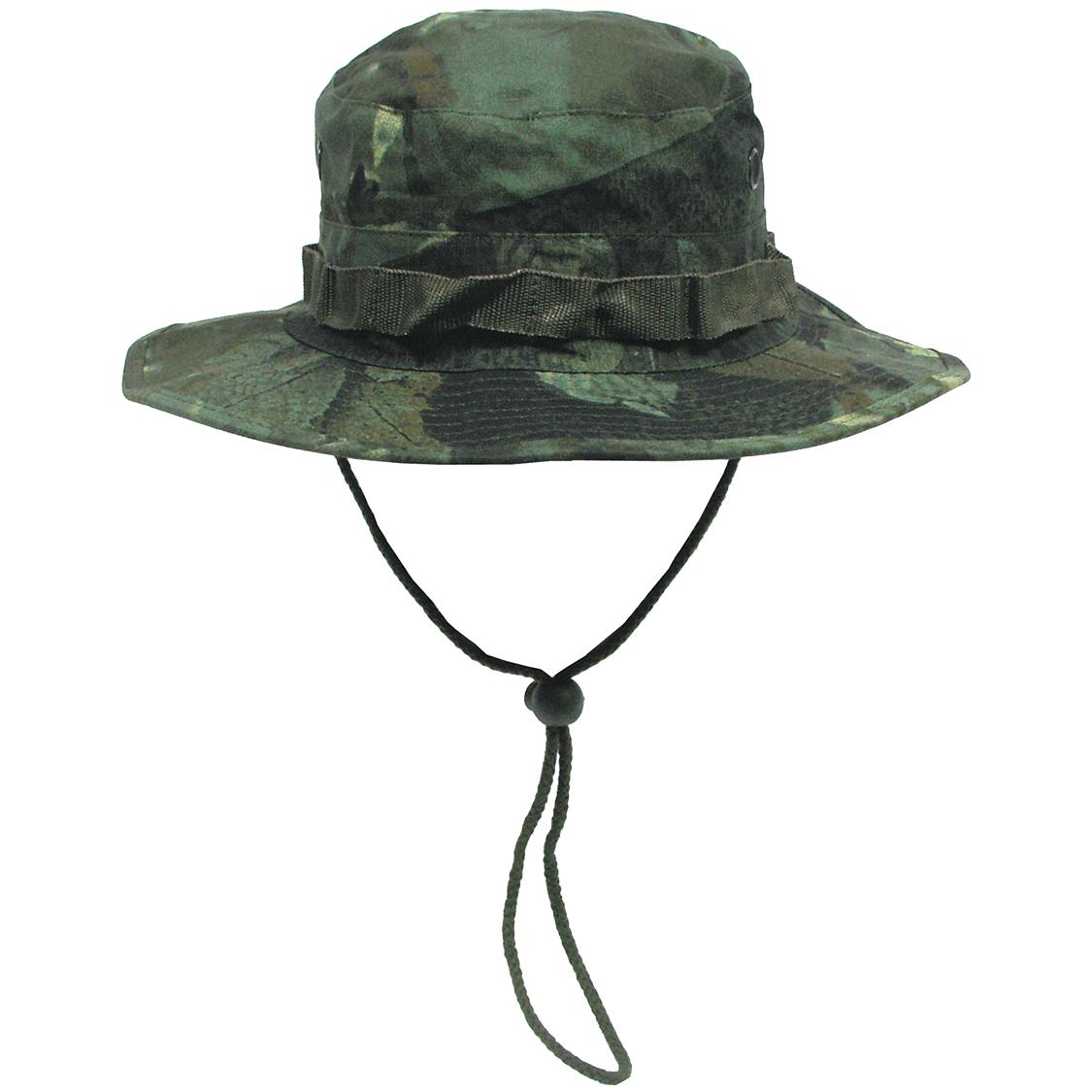 6c14ed0583d Sentinel Thumbnail 1. Sentinel Army GI Ripstop Hunter Boonie Bush Jungle Hat  Fishing Real Tree Green Camo S-XL