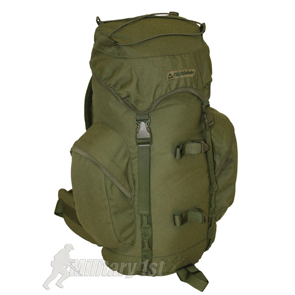 HIGHLANDER-ARMY-MILITARY-RUCKSACK-FORCES-WATERPROOF-CADET-HIKING-TRAVEL-BACKPACK