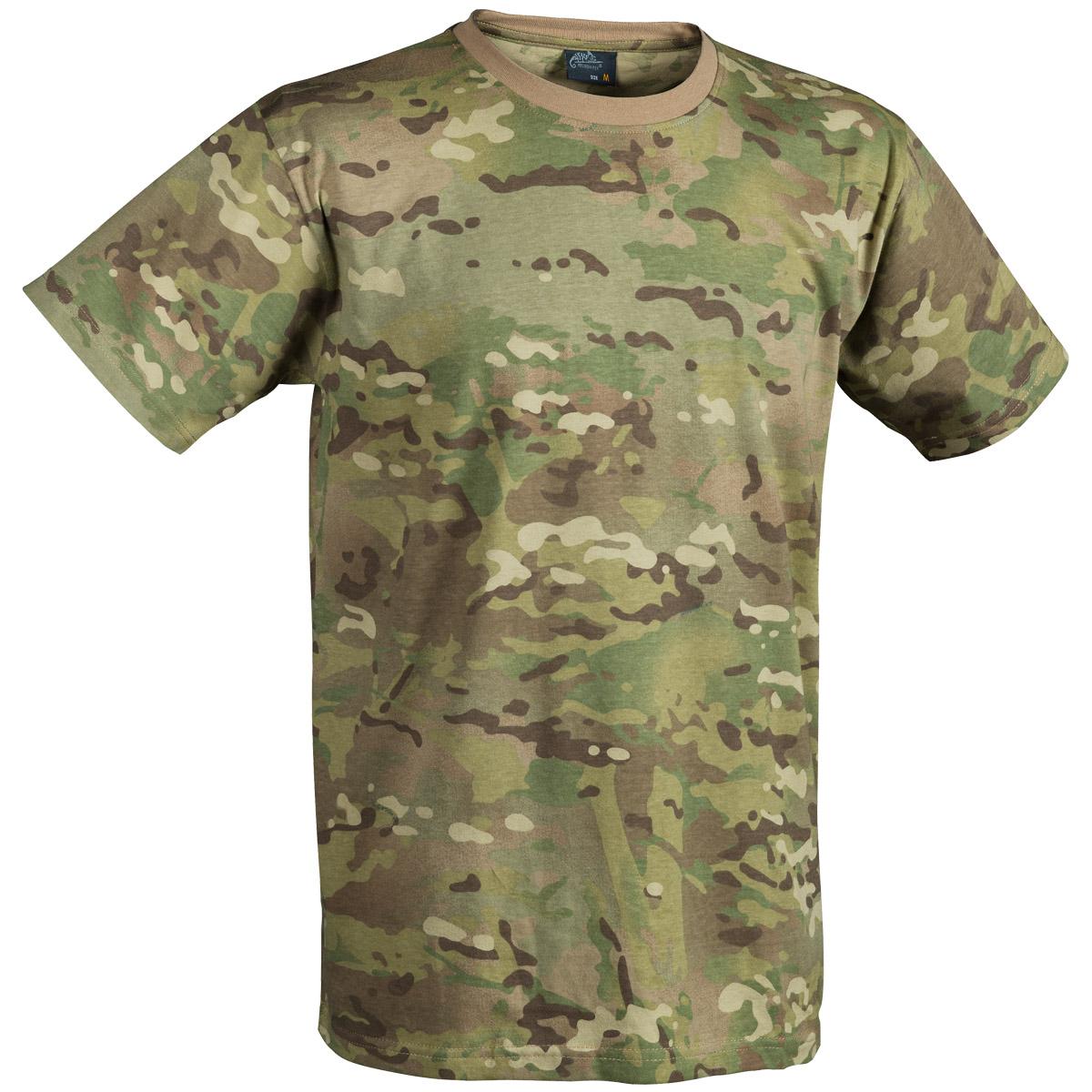 Helikon Tactical Mens T Shirt Army Cadet Top