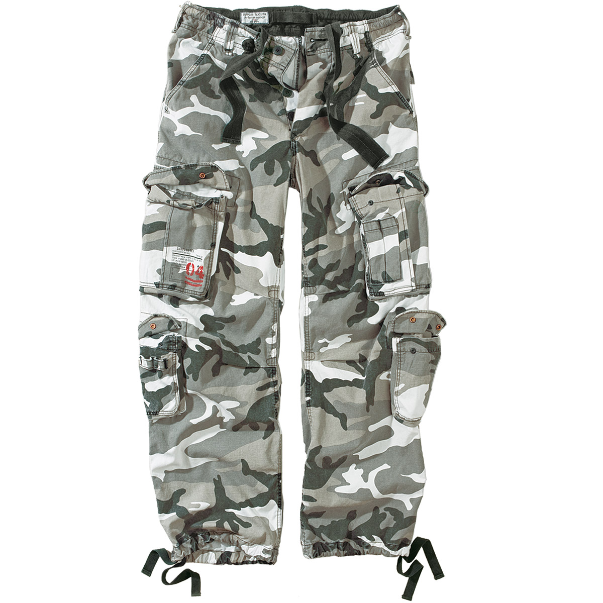 Sentinel Airborne Mens Combats Trousers Army Vintage Motorcycle Cargo Urban  Camo 30 dd293a574d2