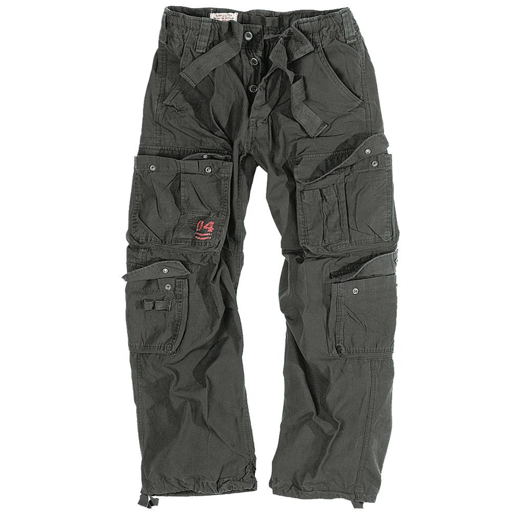 Sentinel Surplus Mens Combat Trousers Army Cargo Work Wear Pants Casual US  Vintage Black b0caea2c80dc