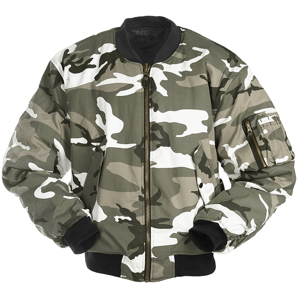 Children Military Jacket Hooded Camouflage Print Army Long Sleeves Zipper Nylon