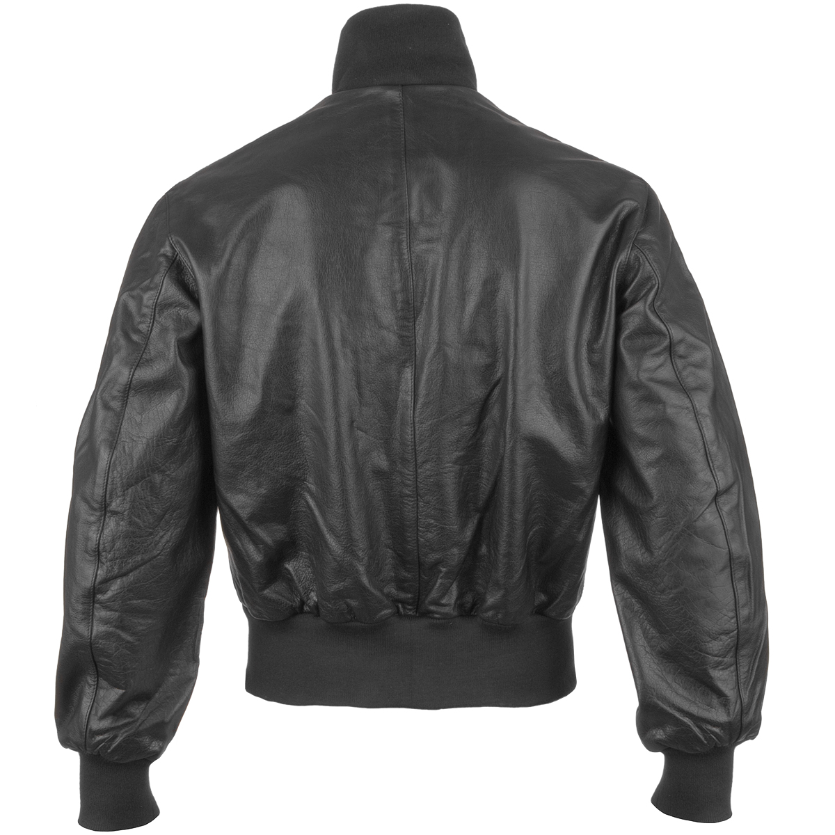CLASSIC BW GERMAN ARMY STYLE LEATHER MENS FLIGHT PILOT BOMBER ...