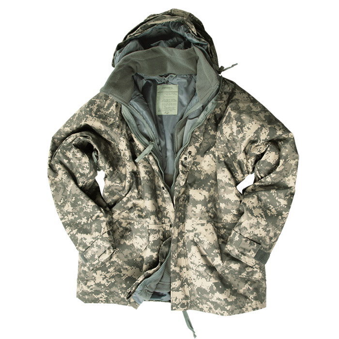 Waterproof Tactical ECWCS Mens Jacket Military Parka   Fleece ACU ...