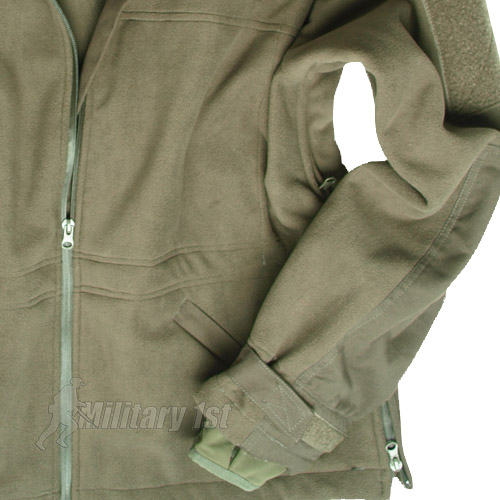 MILITARY WINDPROOF ARMY COMBAT MENS FLEECE WINDPROOF POLAR JACKET OLIVE OD S-3XL