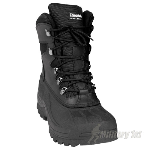 d35a9f8d3 Details about Extreme Cold Wet Weather Waterproof Winter Army Mens Ice Snow  Thermal Boots 6-13