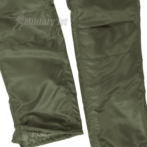 Mil-Tec Thermal Waterproof BDU Army Style MA1 CARGO PANTS Ski Snowboard Black