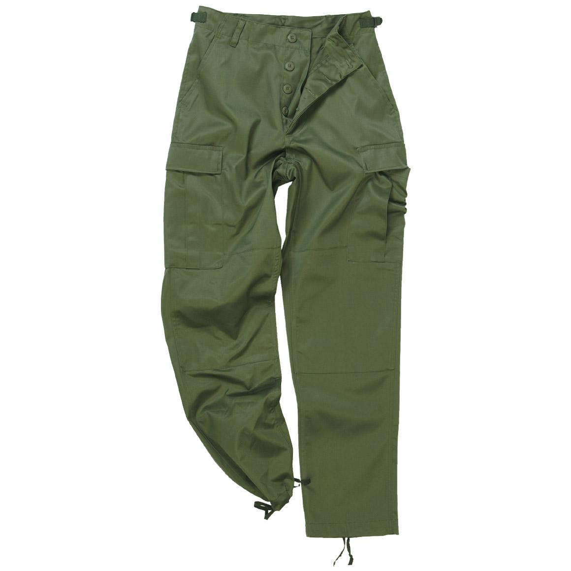 Mil Tec Bdu Ranger Combat Trousers Olive Bdu Military 1st