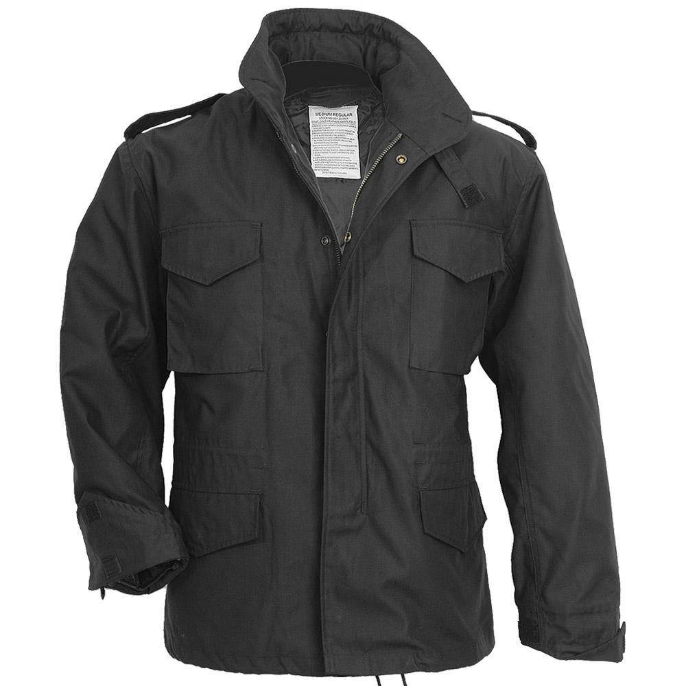 Surplus M65 Jacket Black | M65 | Military 1st