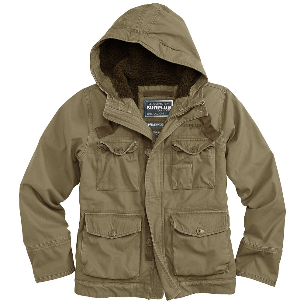 Surplus Supreme Vintage Hydro Jacket Olive   Other   Military 1st