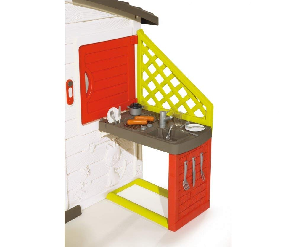 Sentinel Smoby Friends Playhouse With Kitchen Suitable For Ages 3 Years