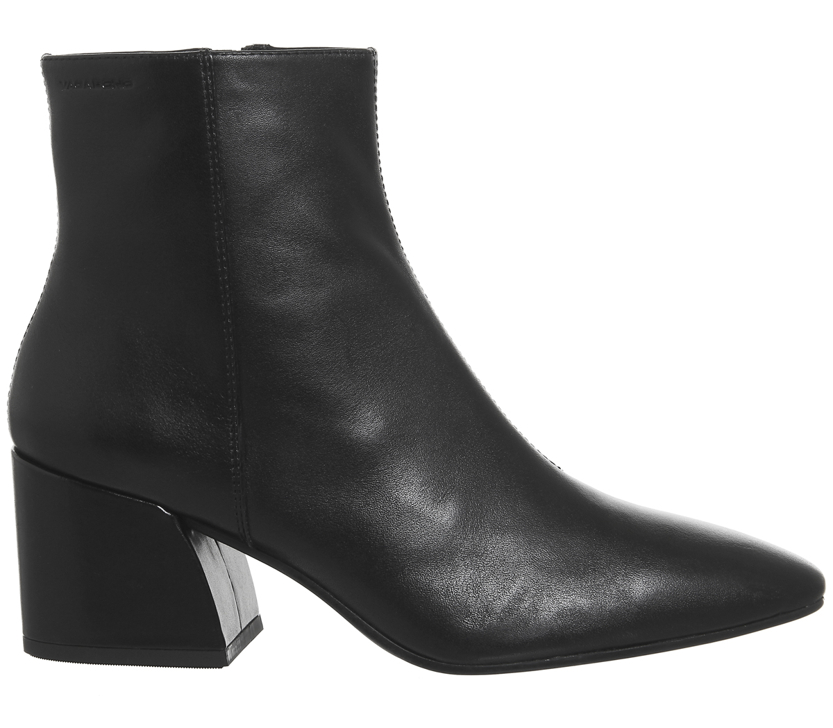 Damenschuhe Vagabond Olivia Block LEATHER Heel Stiefel BLACK LEATHER Block Stiefel 67d385