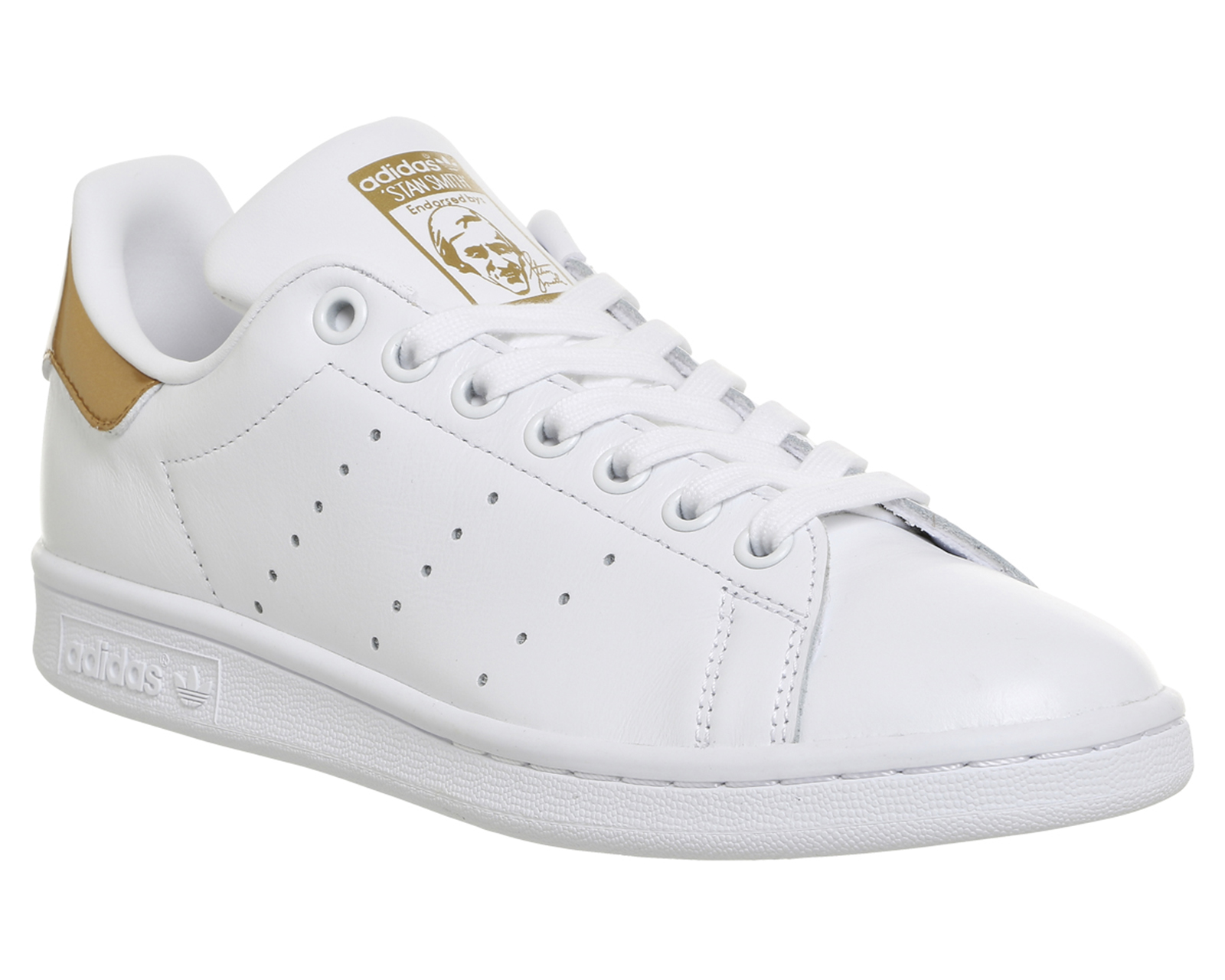 Mens Stan Smith Cf Running Shoes, Bianco adidas