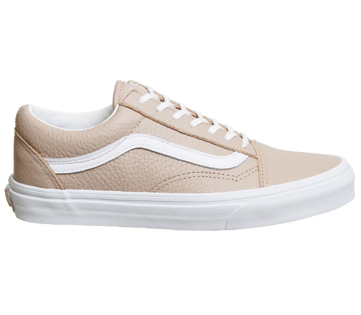 SENTINELLE Womens Vans Old Skool formateurs acajou ROSE TRUE formateurs  blanc chaussures