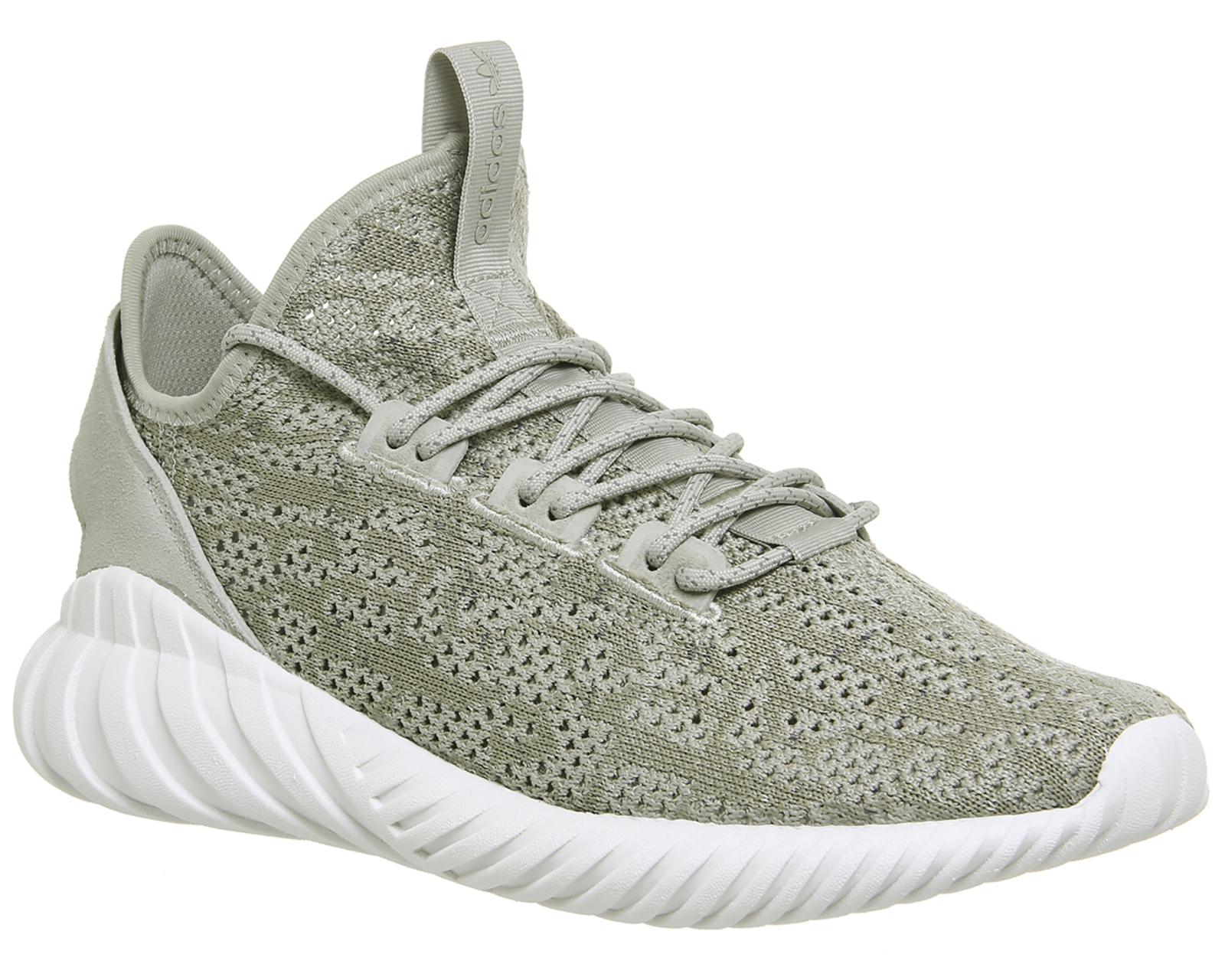 Hombre Adidas tubular Doom Sock Sesame zapatillas blancas zapatos eBay