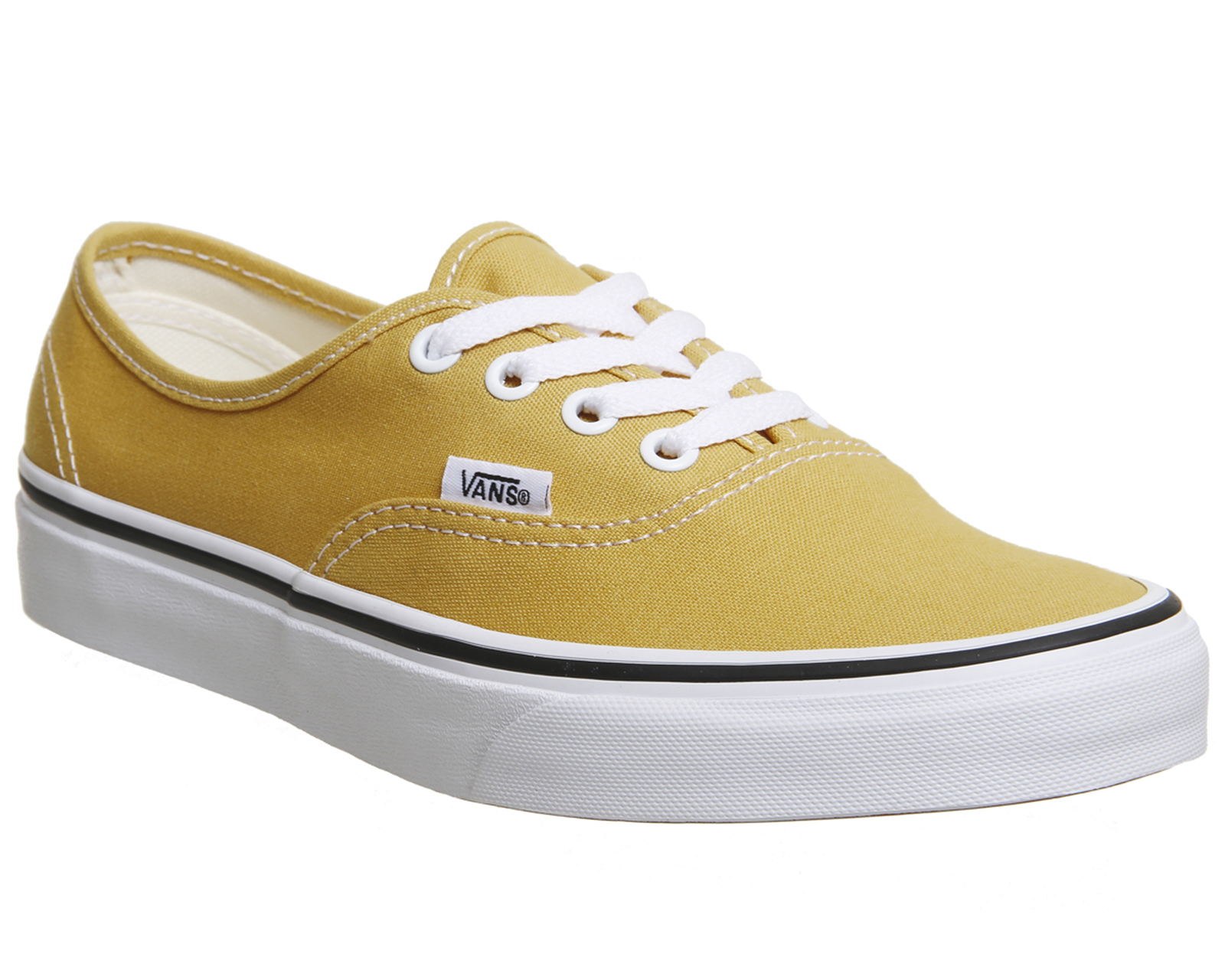Sentinel Womens Vans Authentic Trainers OCHRE TRUE WHITE Trainers Shoes 74d5e81a8