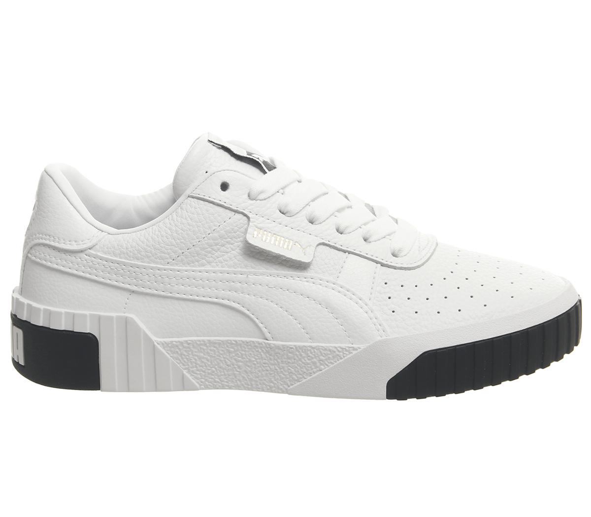 Mujer Blanco Puma Negro Para Cali Zapatos Zapatillas 8x5gAqw