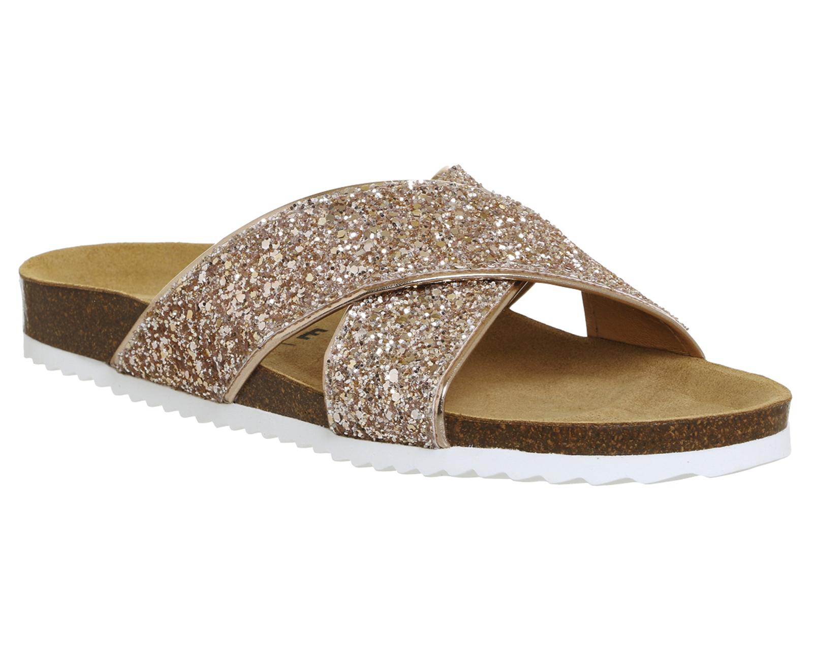 Womens-Office-Hoxton-2-Sandals-ROSE-GOLD-GLITTER-