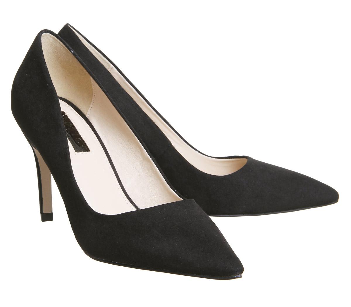 Damen Office Magnum Stilettos Ferse Schwarz Ferse Stilettos 824705