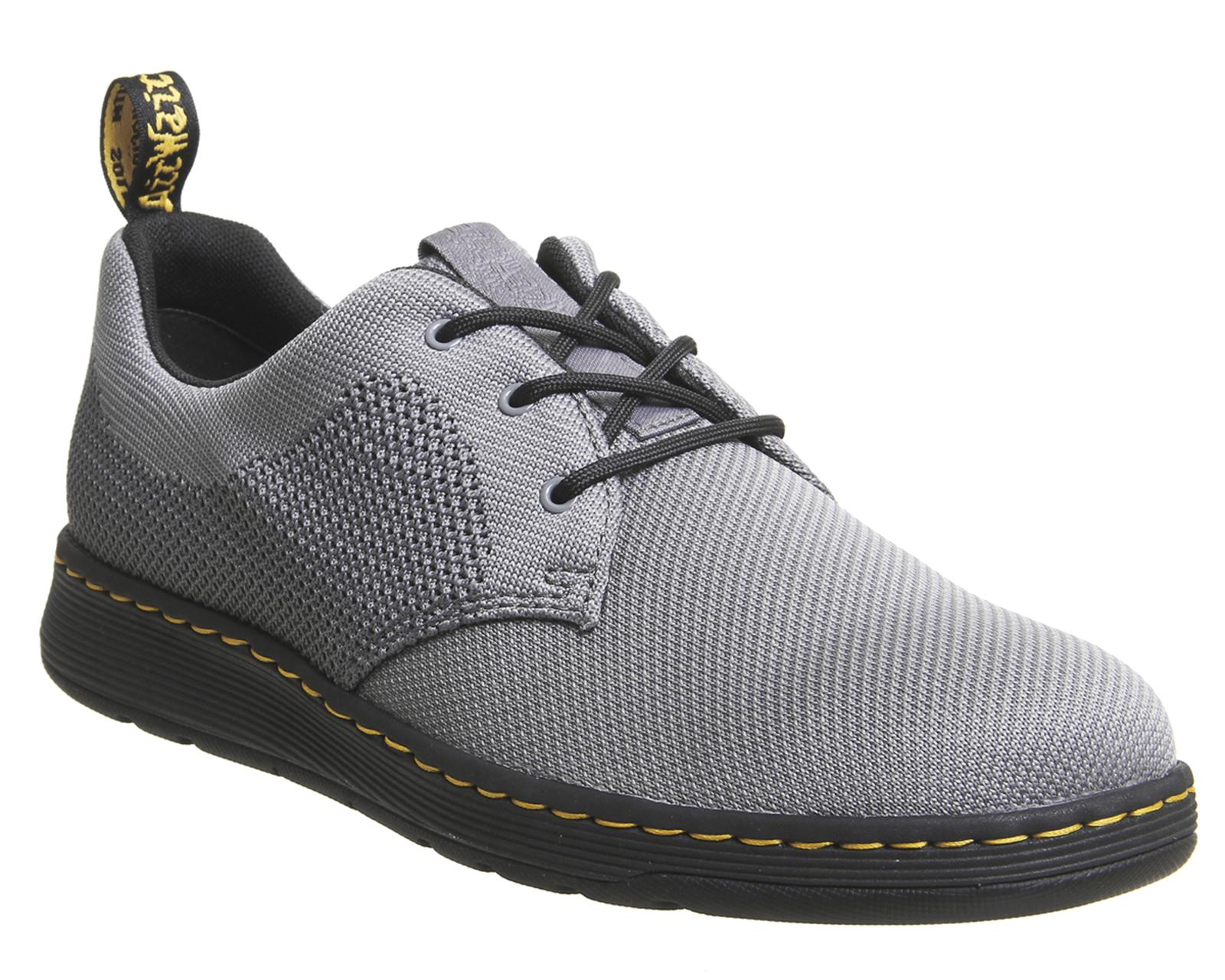 SENTINEL Mens Dr. Martens Cavendish scarpe scarpe formale grigia medio 7064af073c1