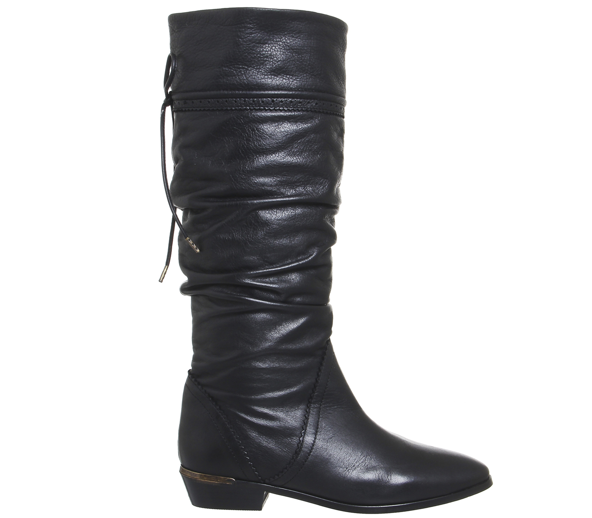 Descuento de la marca Womens Office Kitty Kitty Kitty Vintage Slouch Boots BLACK LEATHER Boots eeea5a