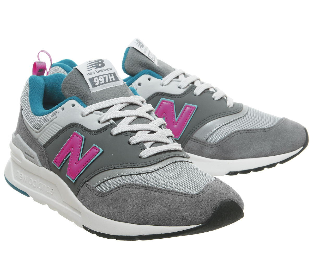 New-Balance-997-Trainers-Castlerock-Peony-Trainers-Shoes thumbnail 13