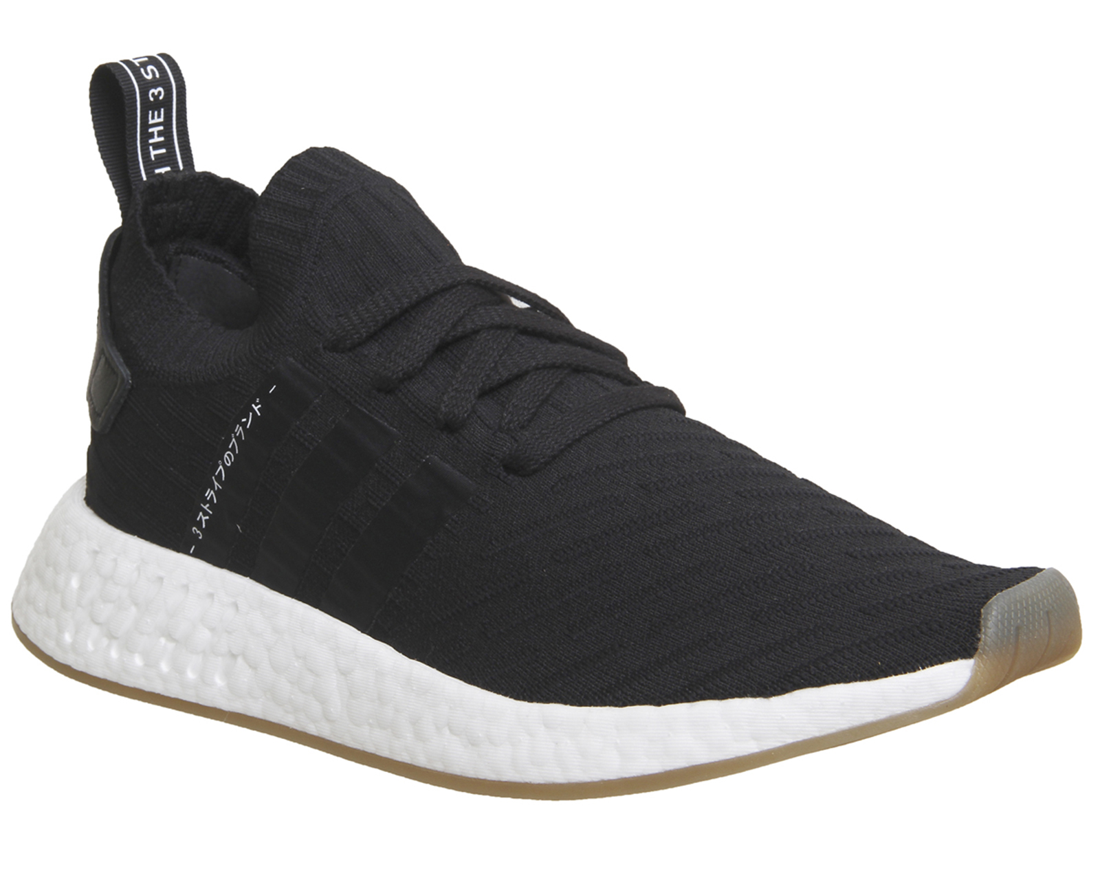 dd9873f10dbd Sentinel Mens Adidas Nmd R2 Pk Trainers Black White Trainers Shoes