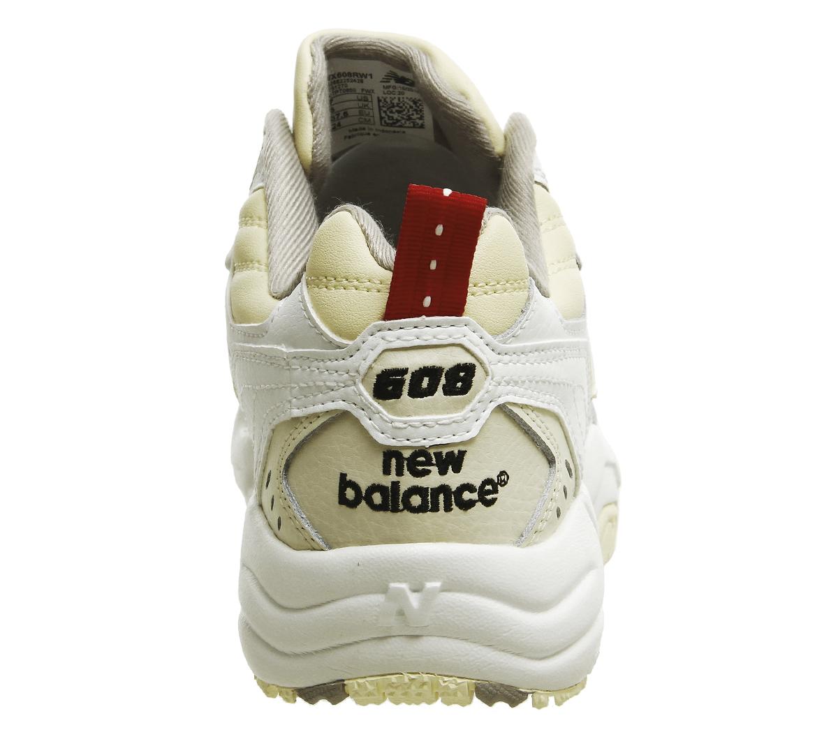 Damenschuhe New Balance 608 Trainers Weiß Cream Trainers Schuhes Schuhes Schuhes 6acd7e