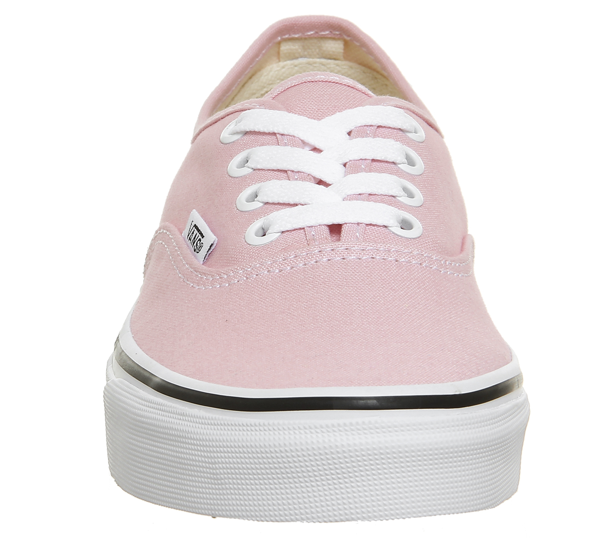 271fa72faf Sentinel Womens Vans Authentic Trainers CHALK PINK TRUE WHITE Trainers Shoes