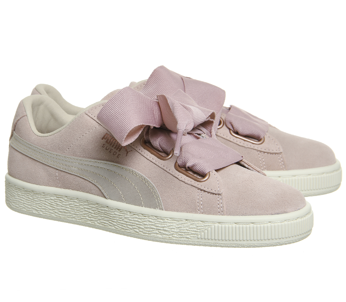 basket femmes puma heart rose gold