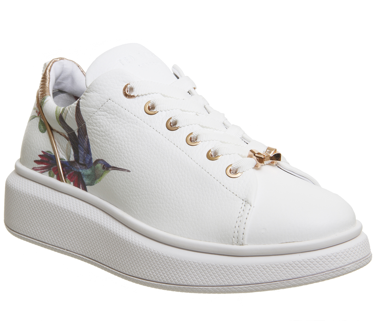 9a433b9d7c35 Sentinel Womens Ted Baker Ailbe Sneakers Highgrove Hummingbird Trainers  Shoes