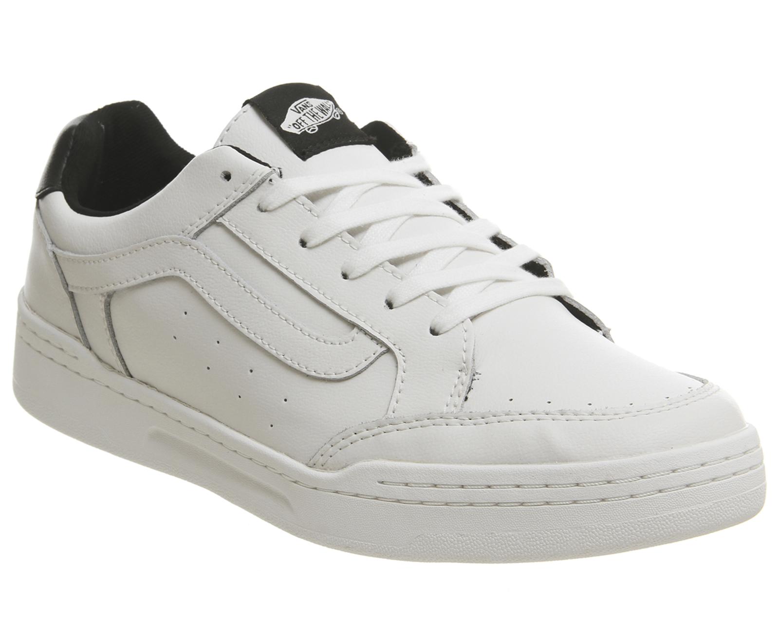 new product 91cbf 53a71 SENTINELLE Formateurs de VANS Highland BLANC noir Trainers Shoes