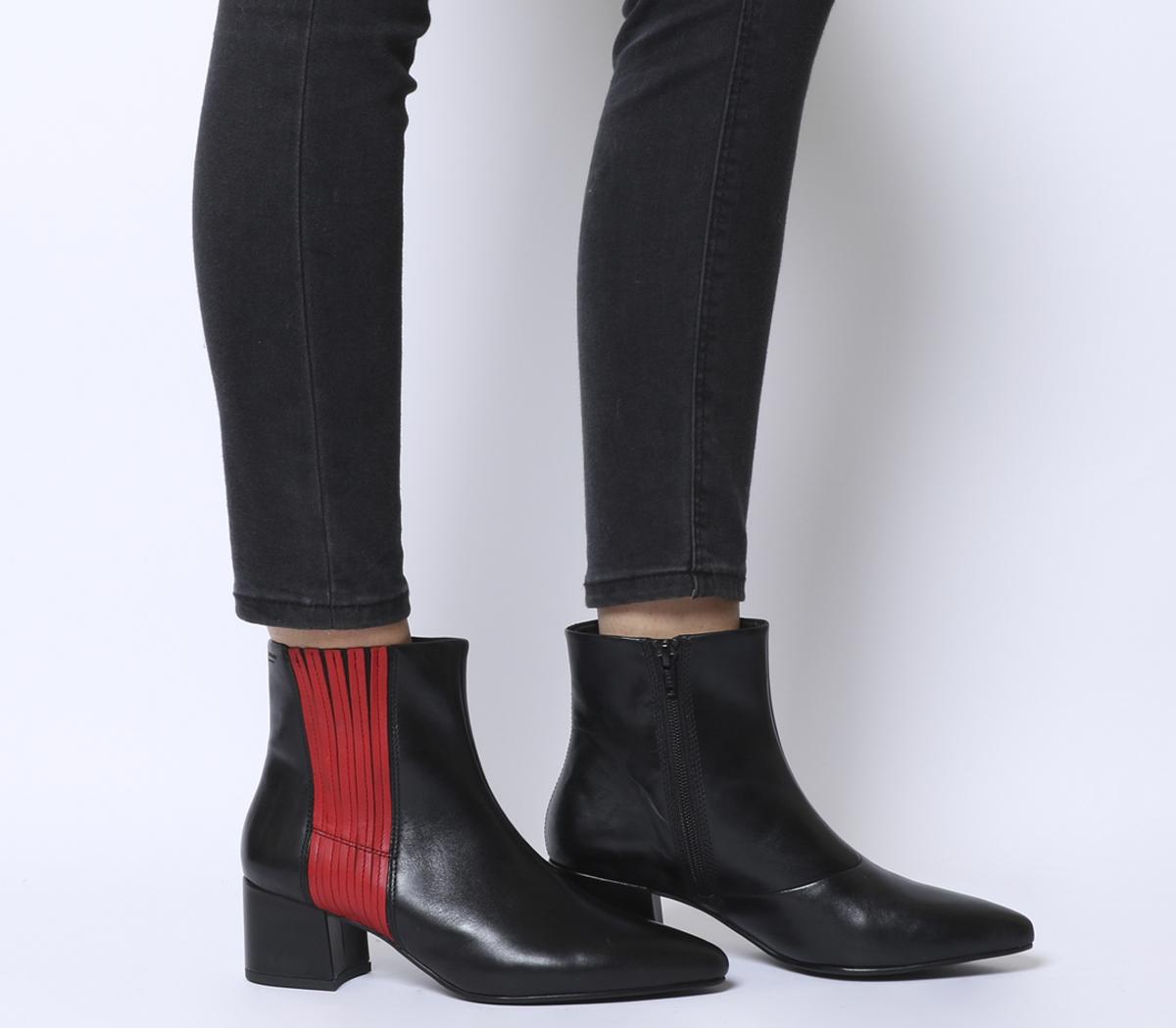 2541f5bd5156 Sentinel Thumbnail 1. Sentinel Womens Vagabond Mya Ankle Boots Black ...