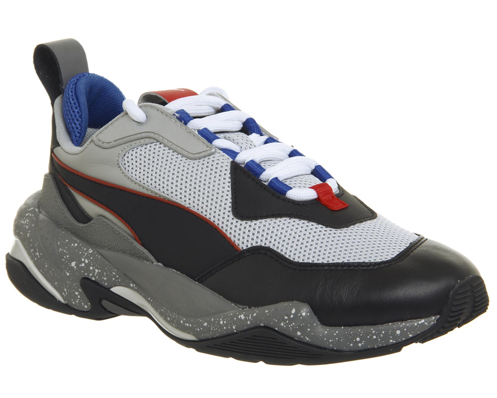 884f67d1c14c9b Sentinel Womens Puma Thunder Electric Trainers Grey Violet Puma Black  Trainers Shoes