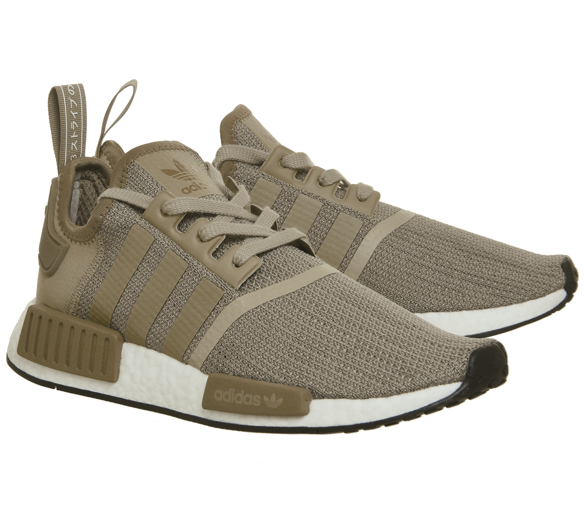 10de31395 Adidas Nmd R1 Trainers RAW GOLD CARDBOARD WHITE Trainers Shoes