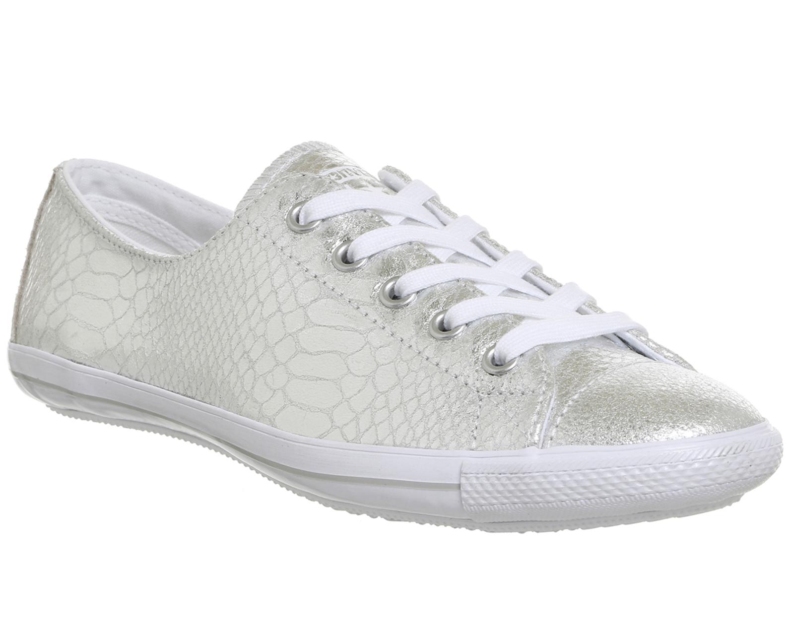 b7960719bab8 Sentinel Damen Converse Ct Lite 2 Multi SILVER METALLIC REPTILE SNAKE  Sneaker