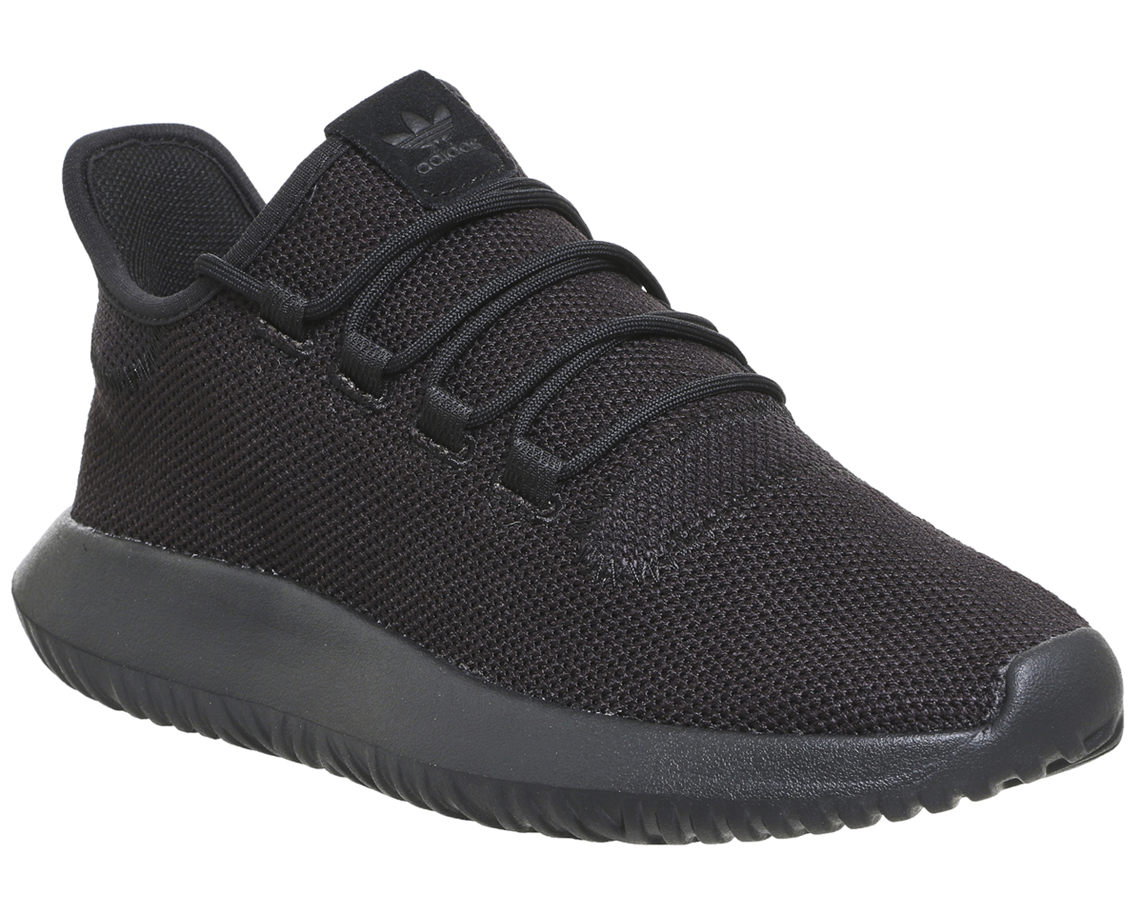 the latest 3a94c 82ba4 Sentinel Adidas Tubular Shadow BLACK MONO Trainers Shoes