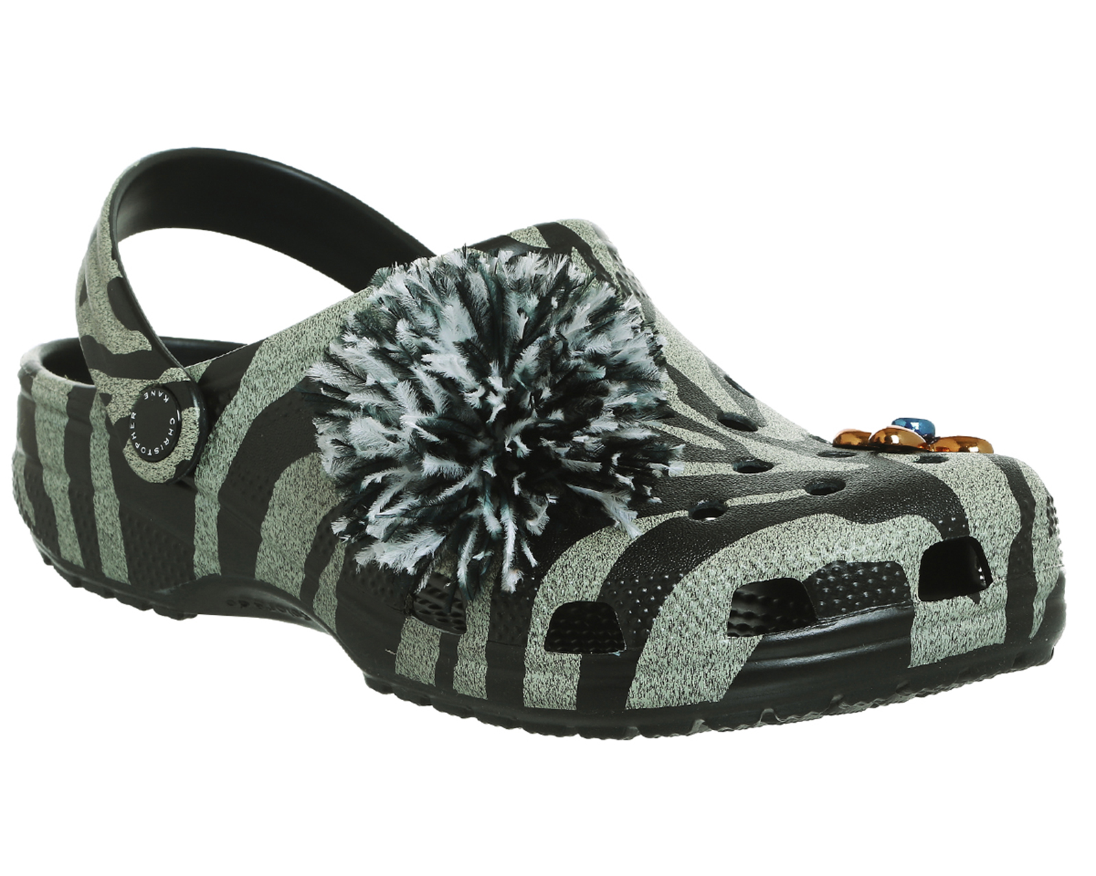 cac867418a0383 Details about Womens Crocs Christopher Kane X Crocs AVOCADO Sandals