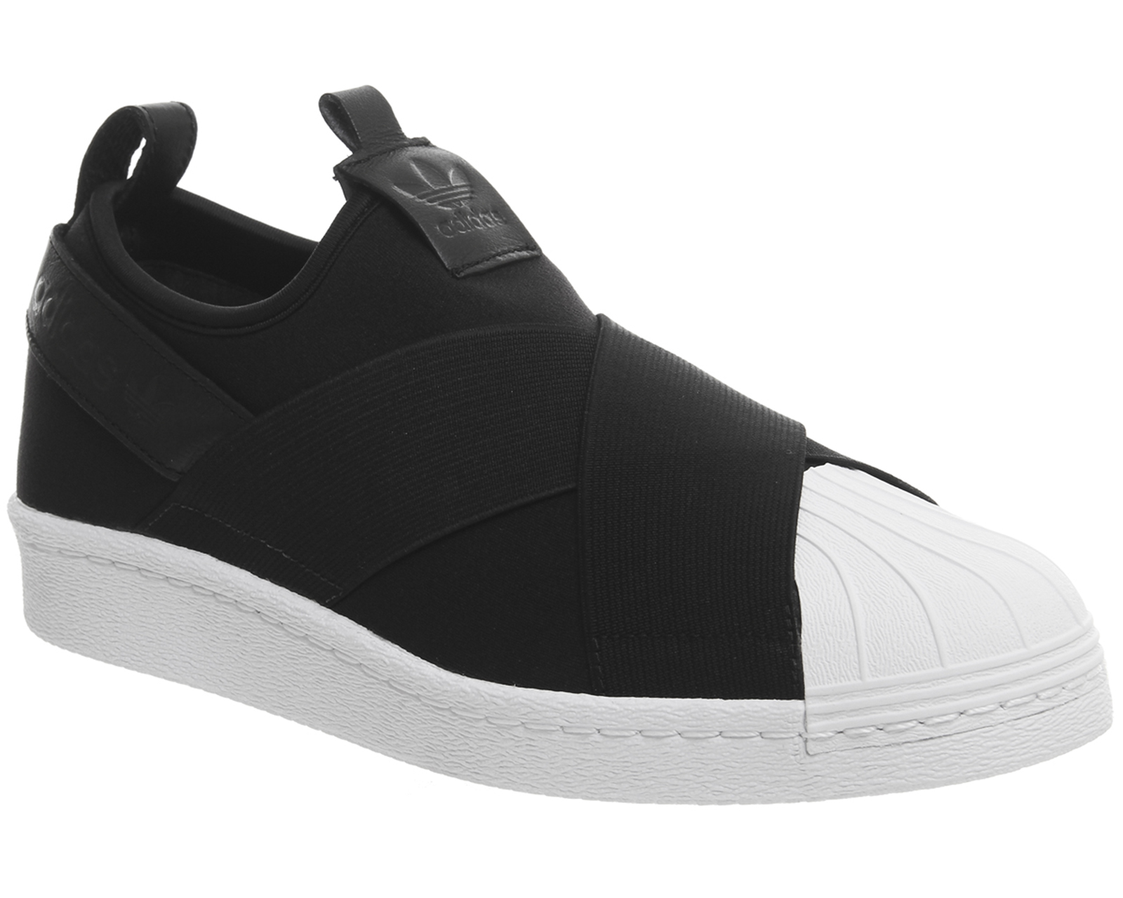 adidas superstar slip on damen schwarz