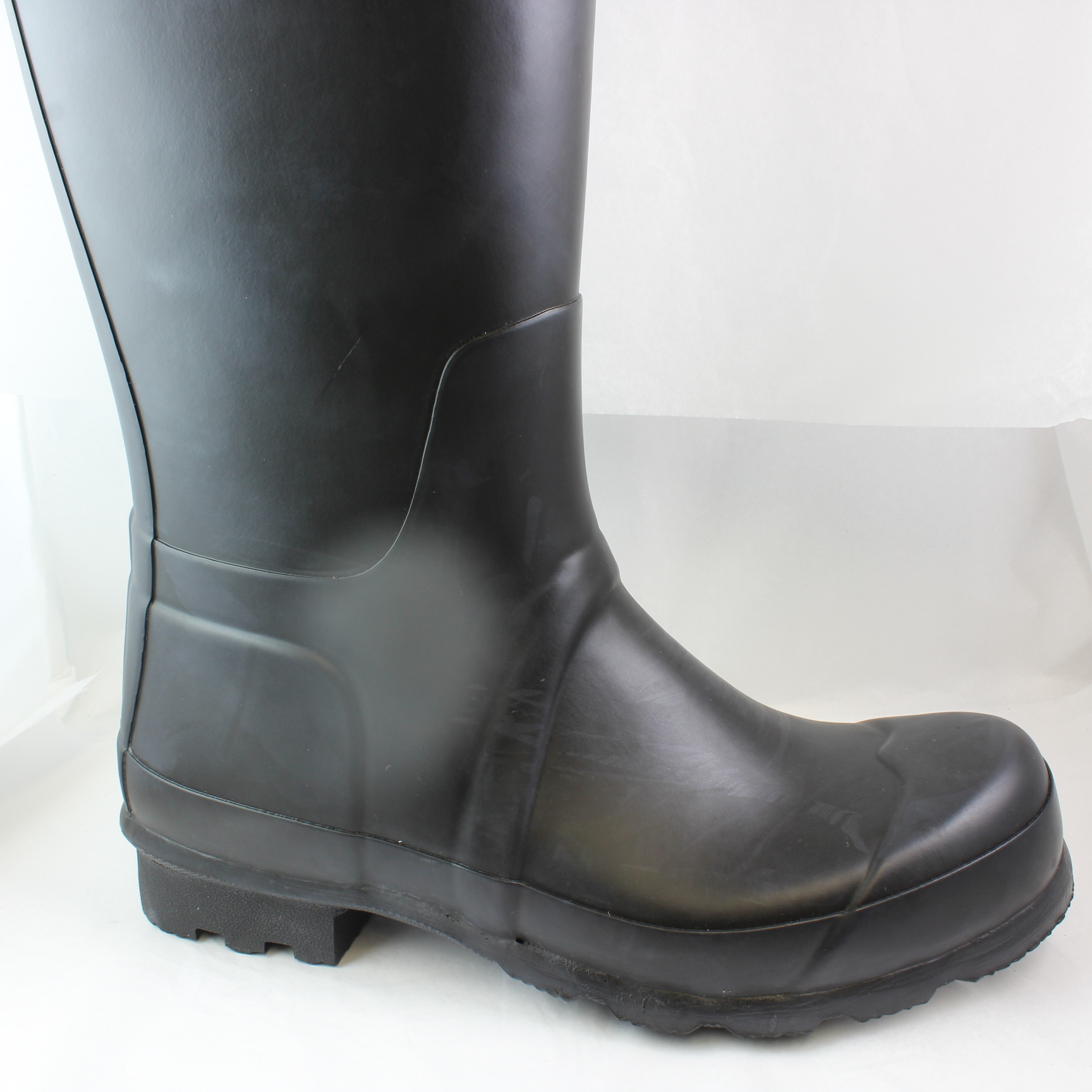 herren hunter original wellies schwarz schwarz gummi stiefel ebay. Black Bedroom Furniture Sets. Home Design Ideas