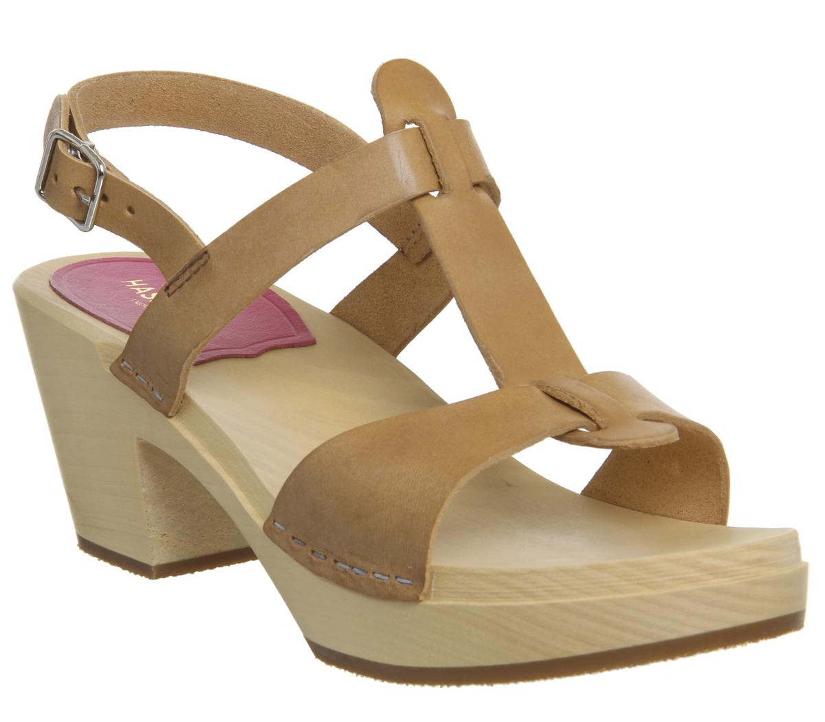 Damenschuhe Swedish Hasbeens Sandales Greek Heel Mid Heel Greek Sandales ... 46b507