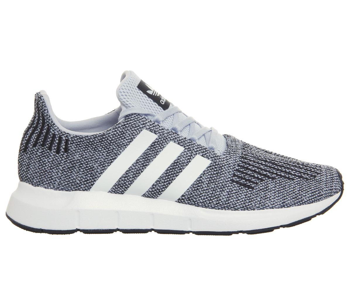525bbc08c0766c Sentinel Mens Adidas Swift Run Trainers AERO BLUE WHITE Trainers Shoes