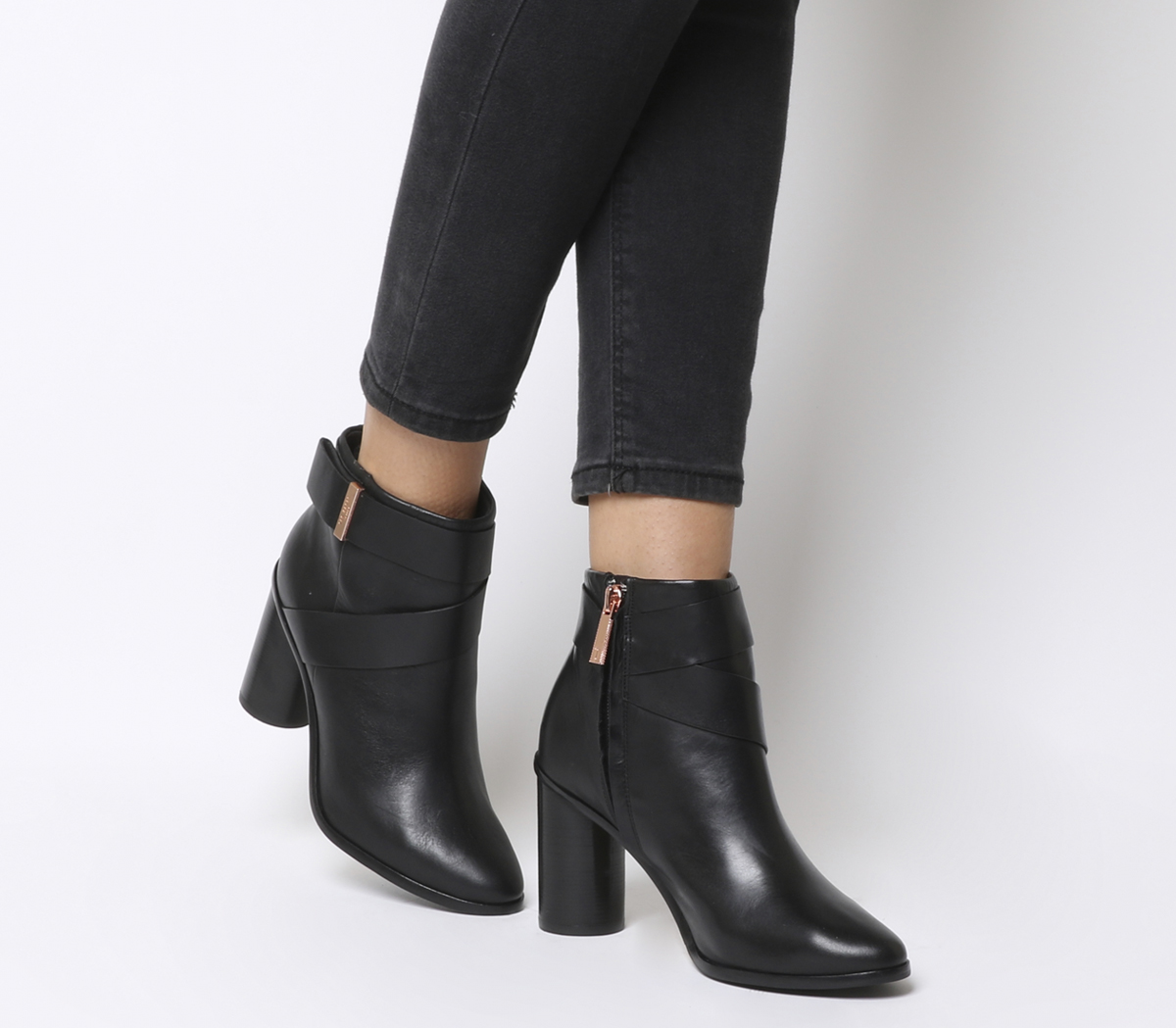 2cc2e12cc04a Sentinel Womens Ted Baker Matyna Boots Black Boots