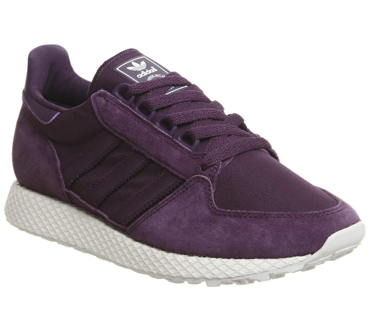 e11fc038ad4e81 Sentinel Womens Adidas Forest Grove Trainers Red Night Cloud White Grey One  Trainers Shoe